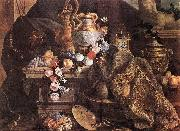 MONNOYER, Jean-Baptiste Still-Life of Flowers and Fruits oil painting picture wholesale