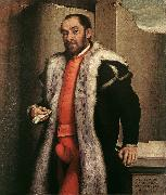 MORONI, Giovanni Battista Portrait of a Man sgy oil painting