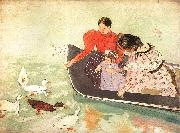 Mary Cassatt Feeding the Ducks oil painting picture wholesale