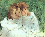 Mary Cassatt The Sisters oil painting picture wholesale
