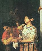 Mary Cassatt On the Balcony oil painting picture wholesale