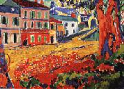 Maurice de Vlaminck Restaurant at Marly-le-Roi oil painting picture wholesale