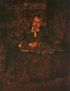 Mihaly Munkacsy Seated Old Woman oil painting picture wholesale