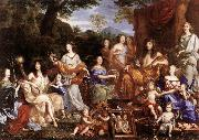 NOCRET, Jean The Family of Louis XIV a oil painting picture wholesale