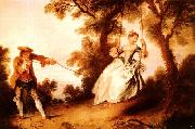 Nicolas Lancret Woman on a Swing oil painting picture wholesale