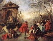 Nicolas Lancret Winter oil painting picture wholesale