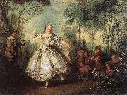 Nicolas Lancret Mademoiselle de Camargo Dancing oil painting picture wholesale