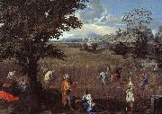 Nicolas Poussin The Summer  Ruth and Boaz oil painting picture wholesale