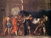 Death of Germanicus 1627 Oil on canvas