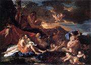 Nicolas Poussin Acis and Galatea oil painting artist