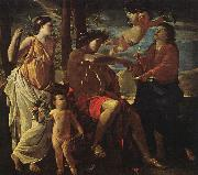 Nicolas Poussin Inspiration of the Poet oil painting artist