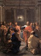 Nicolas Poussin The Institution of the Eucharist oil painting reproduction