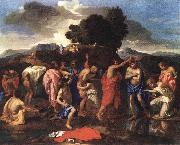 Nicolas Poussin Sacrament of Baptism oil painting reproduction