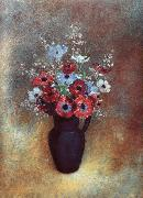 Odilon Redon Amemones oil painting picture wholesale