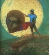 Odilon Redon The Fall of Icarus oil painting picture wholesale
