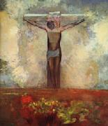 Odilon Redon Crucifixion oil painting picture wholesale