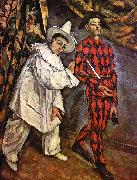 Paul Cezanne Mardi Gras China oil painting reproduction