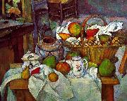 Vessels, Basket and Fruit