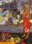 Paul Gauguin Hail Mary oil painting picture wholesale