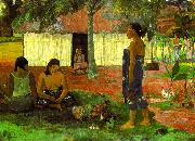 Paul Gauguin Why Are You Angry oil painting picture wholesale