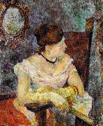 Madame Mette Gauguin in Evening Dress