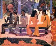 Paul Gauguin Ta Matete oil painting picture wholesale