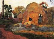 Paul Gauguin Yellow  Hay Ricks(Blond Harvest) oil painting picture wholesale