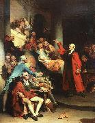 Peter F Rothermel Patrick Henry in the House of Burgesses of Virginia, Delivering his Celebrated Speech Against the St oil painting picture wholesale