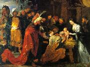 Peter Paul Rubens The Adoration of the Magi oil painting reproduction