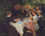 Peter Severin Kroyer Hip Hip Hooray oil painting picture wholesale