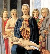 Madonna and Child with Saints Montefeltro Altarpiece