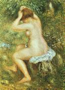 Pierre Renoir Baigneuse se Coiffant oil painting picture wholesale