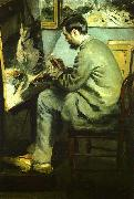Bazille at his Easel