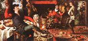 Pieter Aertsen The Egg Dance oil painting picture wholesale