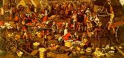 Pieter Aertsen Market Scene_a oil painting picture wholesale
