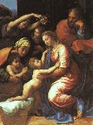 Raphael The Holy Family oil painting reproduction