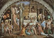 Raphael The Fire in the Borgo oil painting picture wholesale