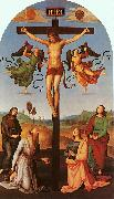 Raphael Christ on the Cross with the Virgin, Saint Jerome, Mary Magdalene and John the Baptist oil painting picture wholesale