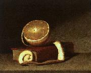 Raphaelle Peale Still Life with Orange and Book oil painting picture wholesale