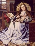 Robert Campin The Virgin and the Child Before a Fire Screen oil painting