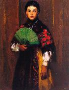 Robert Henri Spanish Girl of Segovia oil painting picture wholesale