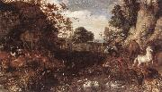 Roelant Savery Garden of Eden oil painting picture wholesale