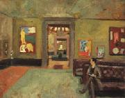 A Room in the Second Post-Impressionist Exhibition(The Matisse Room)