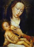 Rogier van der Weyden Madonna and Child oil painting reproduction