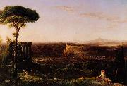 Thomas Cole Italian Scene, Composition oil painting