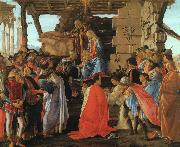 Sandro Botticelli The Adoration of the Magi oil painting reproduction