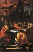 Simon Vouet The Last Supper oil painting reproduction