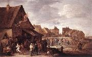 TENIERS, David the Younger Village Feast dtg oil painting picture wholesale