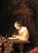 Woman Writing a Letter a