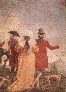 TIEPOLO, Giovanni Domenico The Promenade art oil painting picture wholesale
